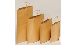 Sac Papier Kraft - Cabas Kraft - Shopper