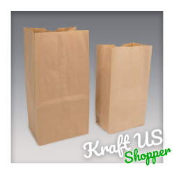 Sac Papier Kraft - S.O.S - SHOPPER
