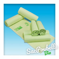 Sac Poubelle Biodégradable-Compostable – 50 L