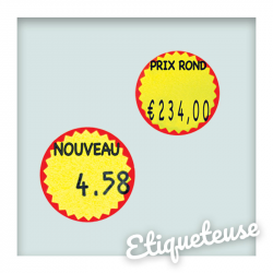 Stickers Ronds • Jaune